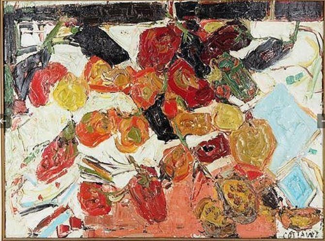 COTTAVOZ-poivron-aubergines-1957-hstoile-59x72-26.12.19-21000
